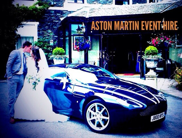 Aston Martin Wedding Car