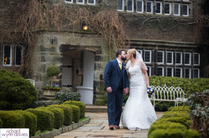 Zoe & Ben's Wedding at Holdsworth House in Halifax