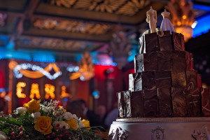 Wedding cake at the Earl of Doncaster Hotel