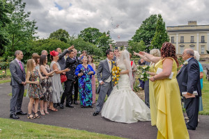 Wedding photography in Elmfield Park Doncaster