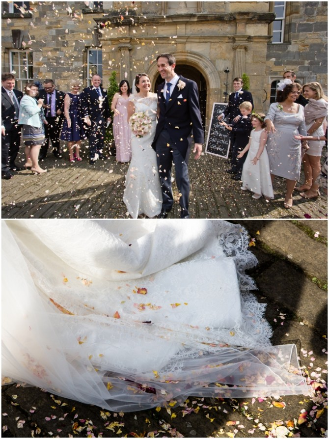 Anna and Neil's Newburgh Priory wedding