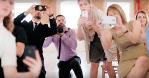 Unplugged weding parody film from SLF weddings