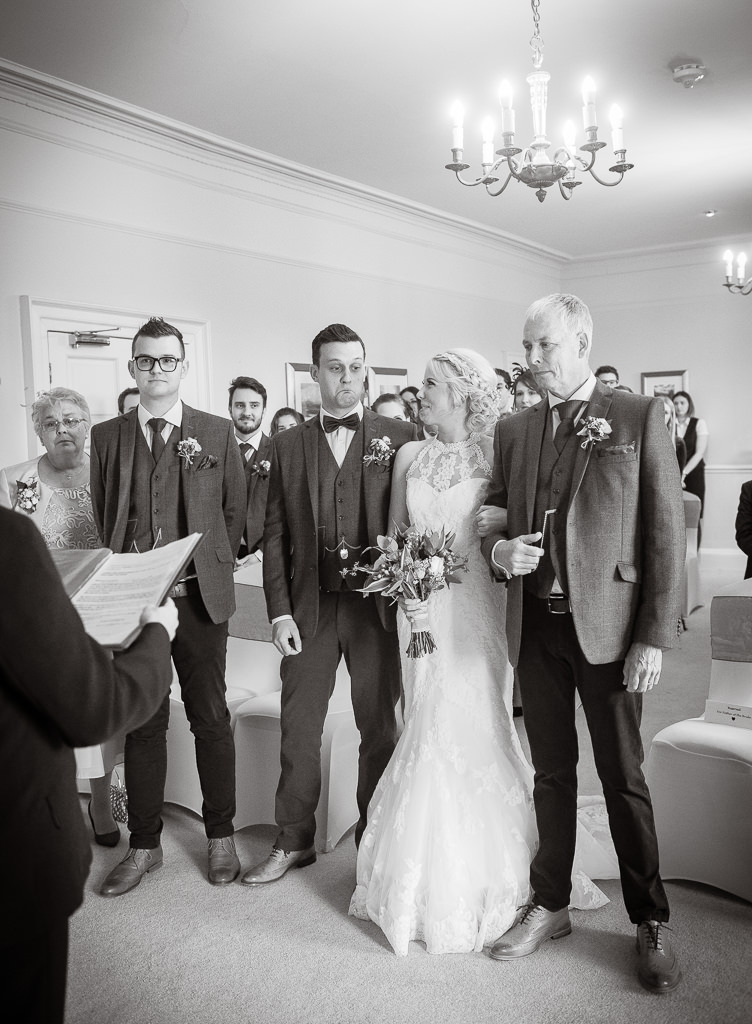 Fixby Hall wedding Hudersfield