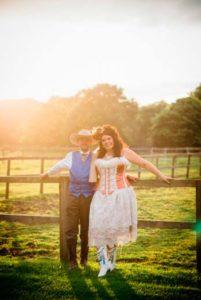 Western themed wedding in Yorkshire