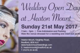 Heaton Mount wedding open day