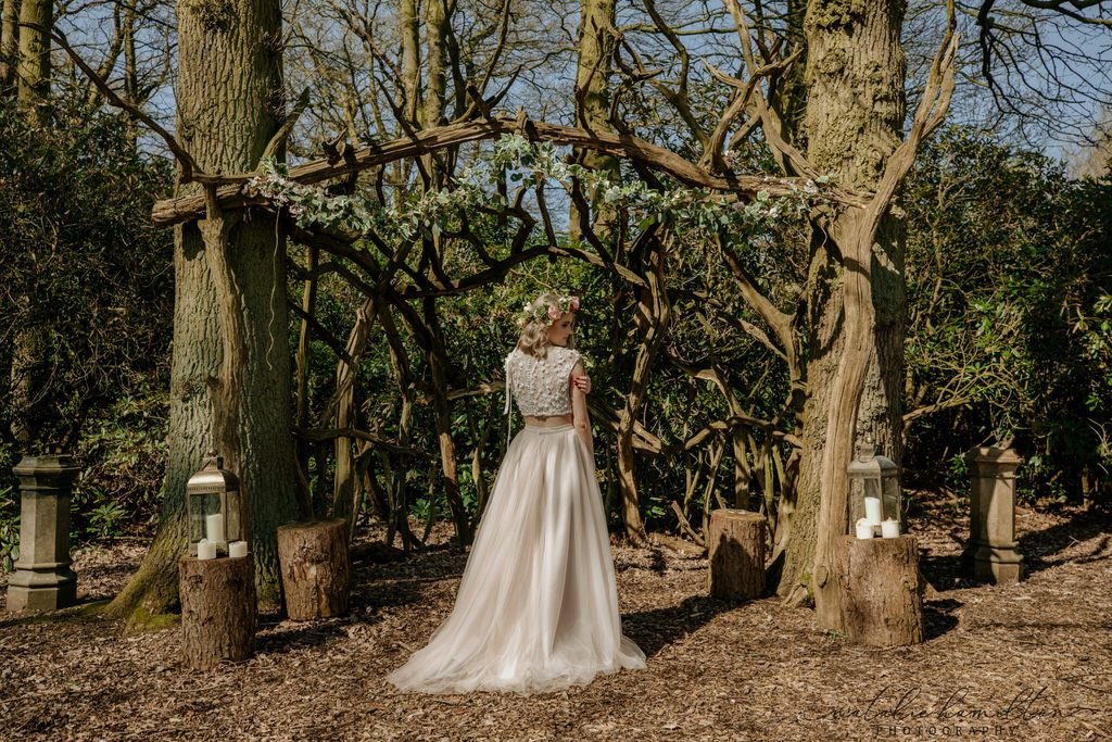 Boho styled wedding shoot at Skipwith Hall in North Yorkshire