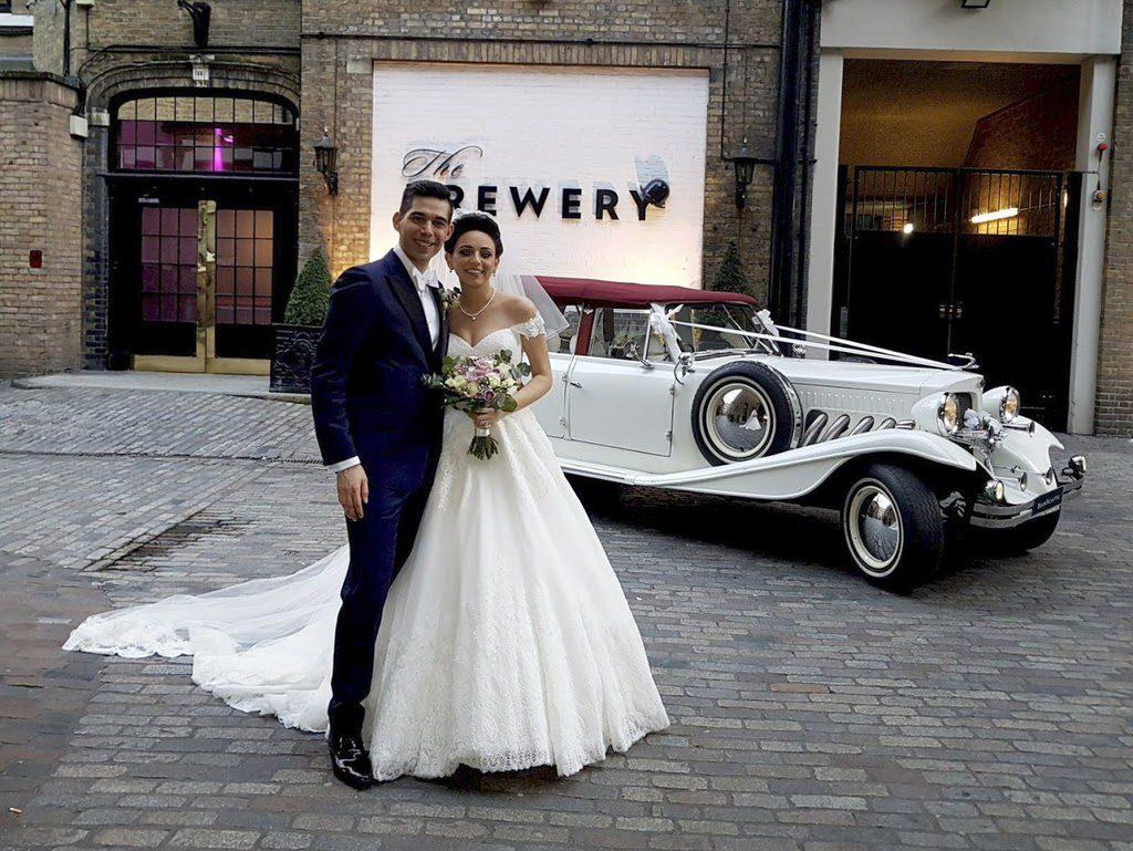 Beauford tourer wedding car
